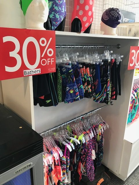 All Bathers 30% OFF Marked Prices! Offer ends 1st August 2018